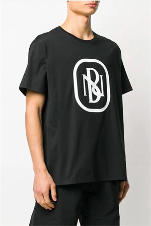 T-shirt with NB logo printed NEIL BARRETT | 8 | PBJT695SN530S524