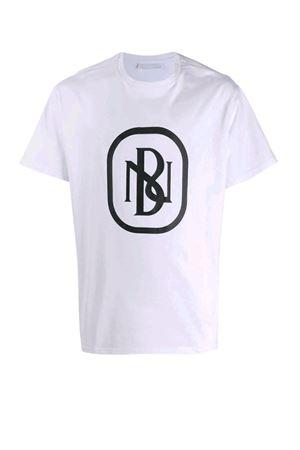 T-shirt con logo NB stampato NEIL BARRETT | 8 | PBJT695SN530S526