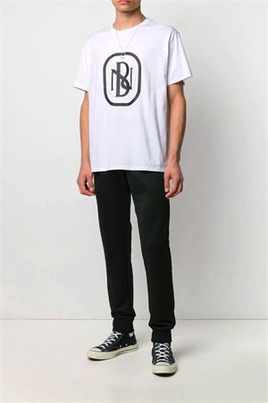 T-shirt with NB logo printed NEIL BARRETT | 8 | PBJT695SN530S526