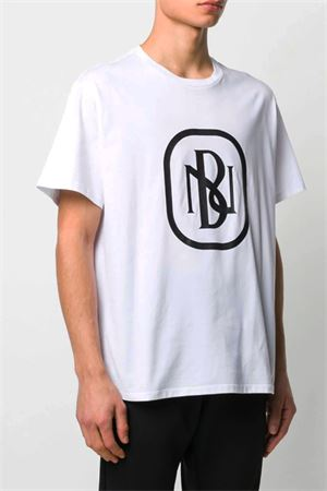T-shirt with NB logo printed NEIL BARRETT | 8 | PBJT695SN530S526