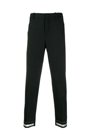 Pantaloni con banda impunturata NEIL BARRETT | 9 | PBPA753AHN001042