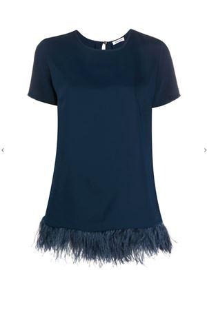 Blusa con piume P.A.R.O.S.H. | 5032237 | D310235PXPANTERS012
