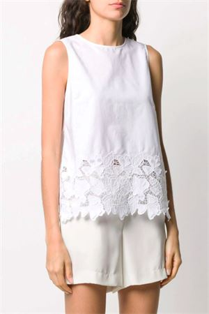 Top with embroidery P.A.R.O.S.H. | 40 | D311237COFLEUR001