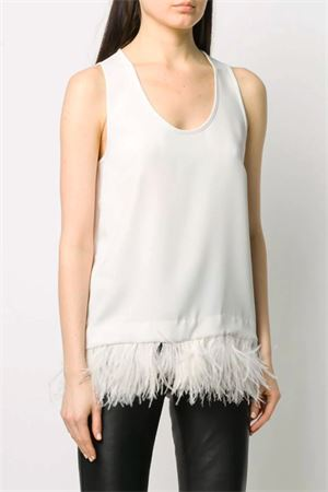 Top with feathers P.A.R.O.S.H.   40   D311250PPANTERS002