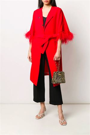 Coat with feathers P.A.R.O.S.H. | 17 | D430268PPANTERS009