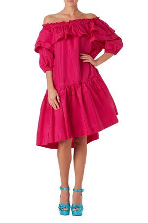 Dress with bare shoulders P.A.R.O.S.H. | 11 | D723179PLAFF028