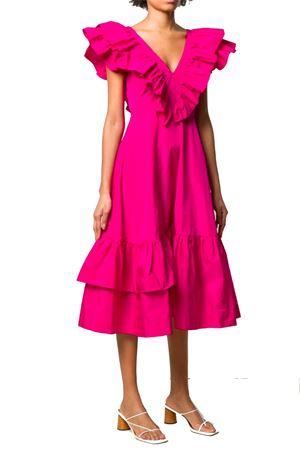 Dress with ruffles P.A.R.O.S.H. | 11 | D723233PLAFF028