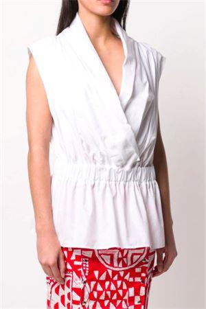 Camicia con drappeggio STELLA JEAN   6   EJDRCA0303170101