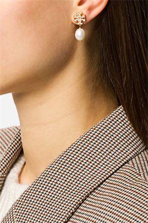 Pendant earrings with logo TORY BURCH   48   60525137
