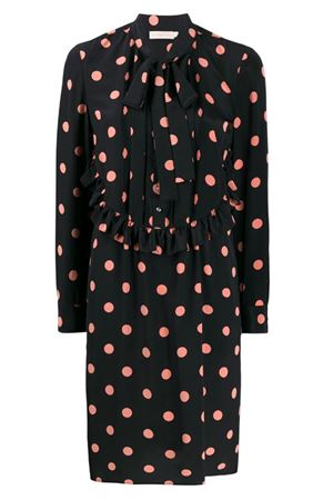 Polka dot dress with ruffles TORY BURCH | 11 | 61697986