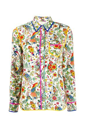 Shirt with floral print TORY BURCH | 6 | 61887962