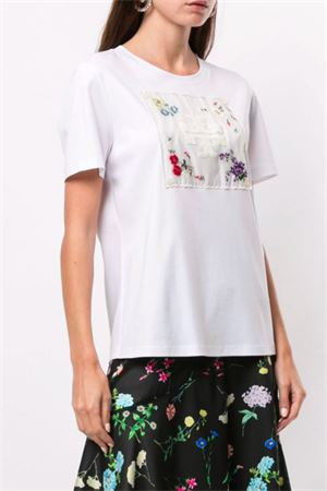 T-shirt with embroidery TORY BURCH | 8 | 66267100