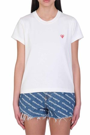 T-shirt con logo ALEXANDER WANG   8   1CC2201392104