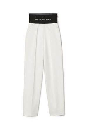 Trousers with logo ALEXANDER WANG | 9 | 1WC2214345110