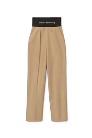 Trousers with logo ALEXANDER WANG | 9 | 1WC2214345282