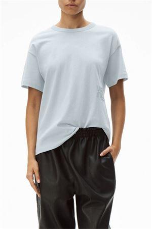 T-shirt con logo ALEXANDER WANG   8   4CC1201152454