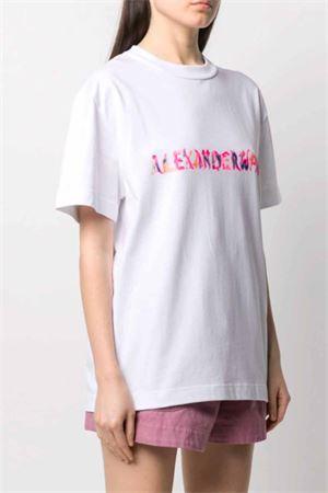 T-shirt con logo ALEXANDER WANG   8   UCC1211015100