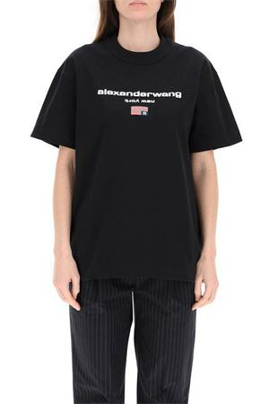 T-shirt con logo ALEXANDER WANG   8   UCC1211344001