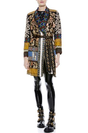 Jacket with embroidery ALICE & OLIVIA | 3 | CC010E46203A960