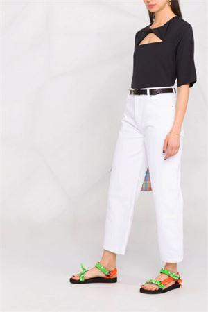 Jeans con logo GANNI | 24 | F5722151