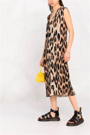 Abito leopardato GANNI   11   F5858994