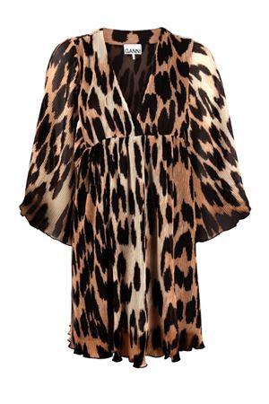 Short leopard dress GANNI | 11 | F5861994