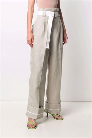 Pantaloni in lino GANNI | 9 | F5887009