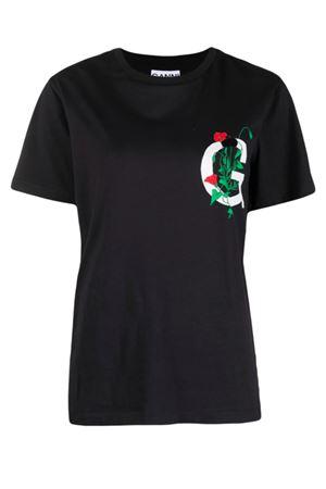 T-shirt with G logo GANNI | 8 | T2780252