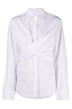 Camicia incrociata in popeline HELMUT LANG | 6 | K10HW506100