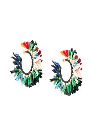 Orecchini multicolor LA DOUBLEJ. | 48 | EAR0007RAF001MUL0002