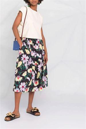Magnolia print skirt MARNI | 15 | GOMAW43J00UTCZ96MAN99