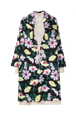 Magnolia print coat MARNI | 17 | SPMA0181HUUTCZ97MAN99