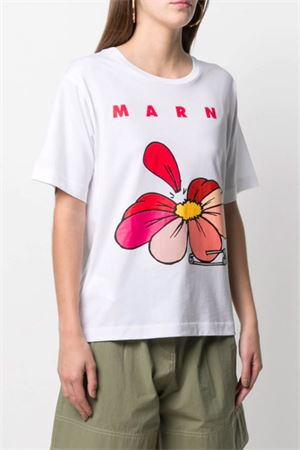 T-shirt a fiori MARNI   8   THJEL32EPTUSCR1400W01