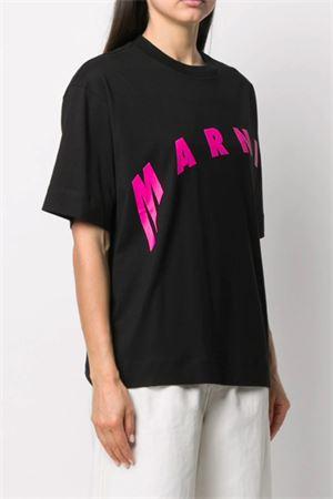 T-shirt with logo MARNI | 8 | THJET49EPFUSCR1300N99