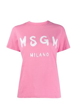 T-shirt with logo MSGM | 8 | 2841MDM6020729812