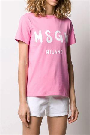 T-shirt con logo MSGM   8   2841MDM6020729812