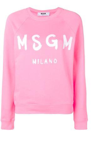 Felpa con logo MSGM | -108764232 | 2841MDM8920729912