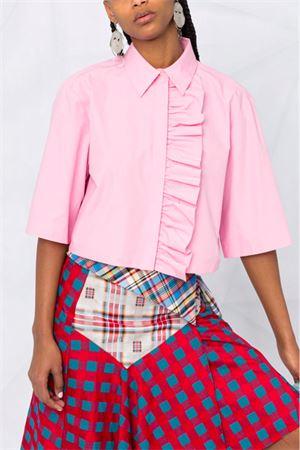 Camicia con rouches MSGM   6   3041MDE1121710412
