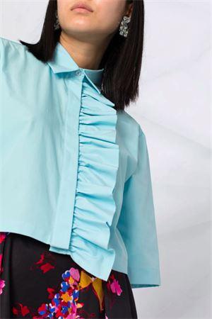 Camicia con rouches MSGM | 6 | 3041MDE1121710485