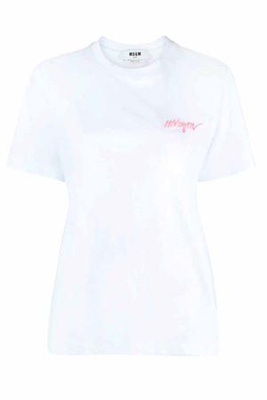T-shirt con logo MSGM | 8 | 3041MDM10821729801