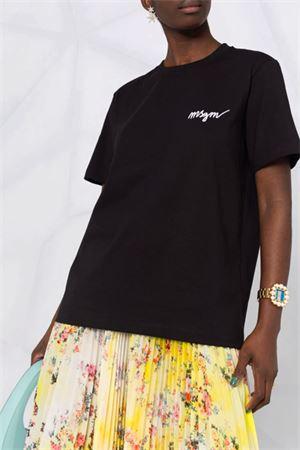 T-shirt con logo MSGM   8   3041MDM10821729899
