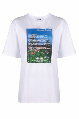 T-shirt con stampa MSGM | 8 | 3041MDM16021729801
