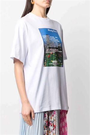 T-shirt con stampa MSGM   8   3041MDM16021729801