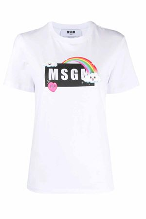 T-shirt with logo MSGM | 8 | 3041MDM16921729801