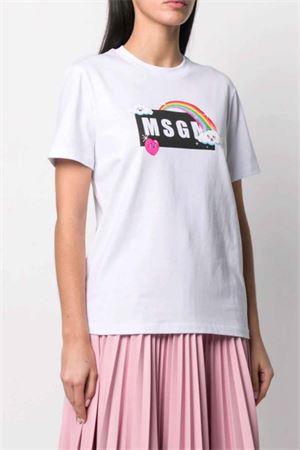 T-shirt con logo MSGM   8   3041MDM16921729801