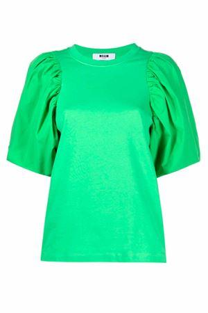 T-shirt con manica a sbuffo MSGM | 8 | 3041MDM7521729836