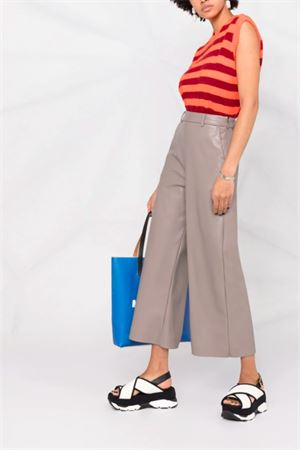 Faux leather trousers MSGM | 9 | 3041MDP06B21710195