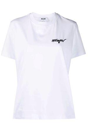 T-shirt con logo MSGM | 8 | 3042MDM26021749801