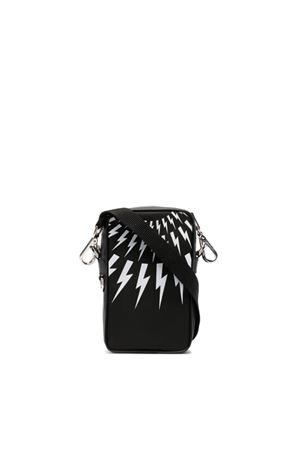 Lightning bolt messenger bag NEIL BARRETT | 31 | PBBO275AQ9101524