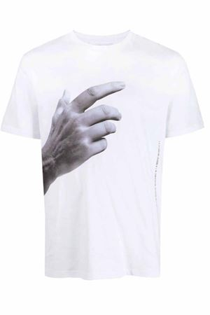 The Other Hand T-shirt NEIL BARRETT | 8 | PBJT927SQ557S3154